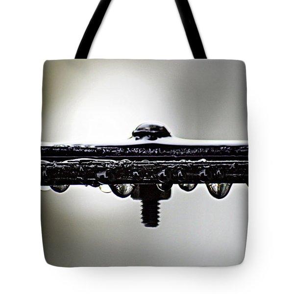Screw This Rain Tote Bag by Lisa Knechtel