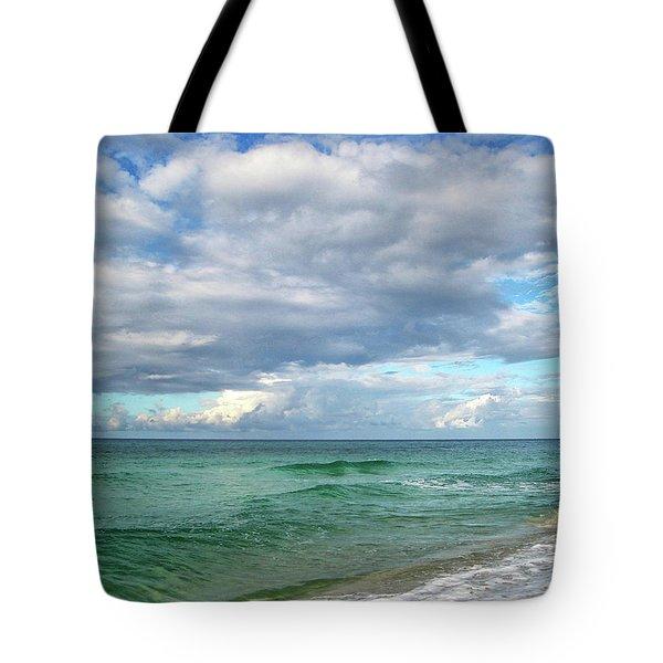 Sea and Sky - Florida Tote Bag by Sandy Keeton