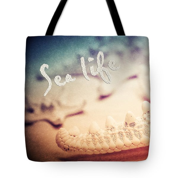 Sea Life Tote Bag by Angela Doelling AD DESIGN Photo and PhotoArt