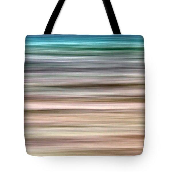 Sea Movement Tote Bag by Stelios Kleanthous
