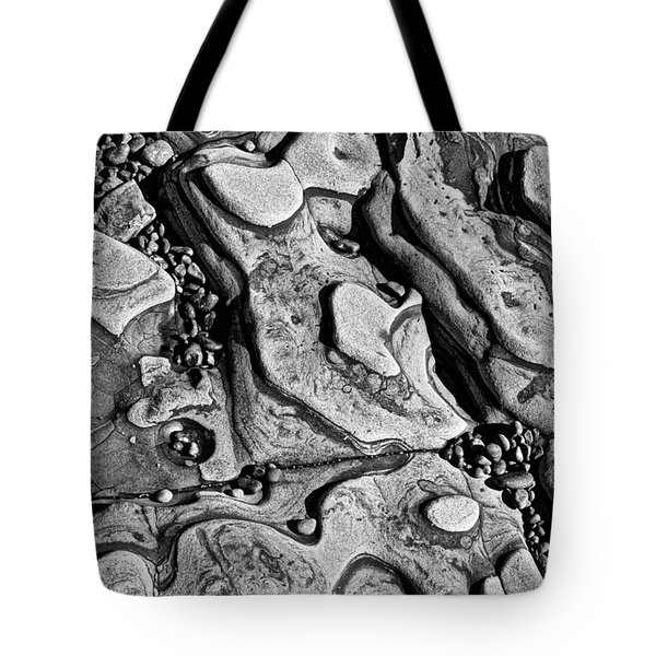 Sea shaped stones Tote Bag by Garry Gay