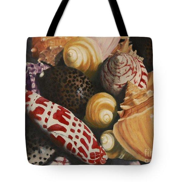 Sea Shells Tote Bag by Sid Ball