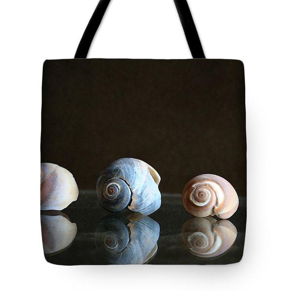 Sea Snails Tote Bag by Linda Sannuti
