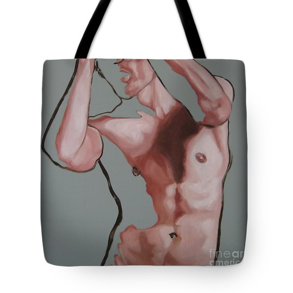 Searching Within  Tote Bag by Jindra Noewi