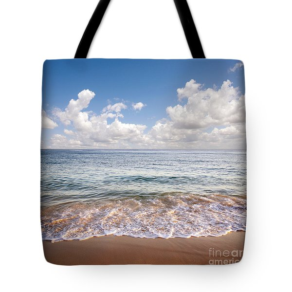 Seascape Tote Bag by Carlos Caetano
