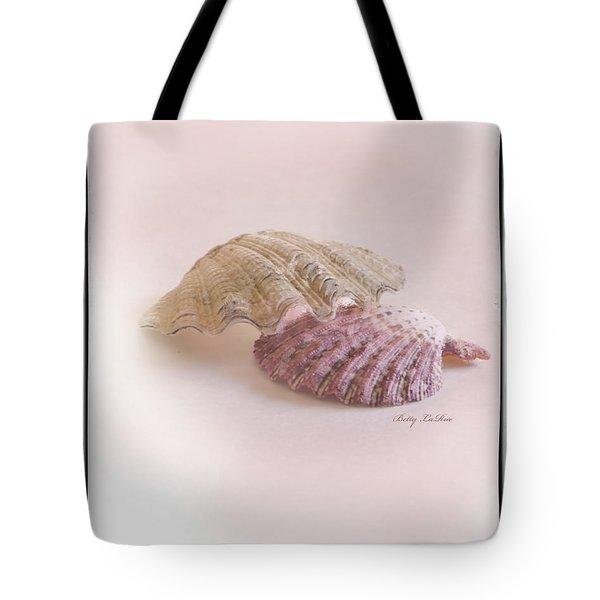 Seashell Love Tote Bag by Betty LaRue