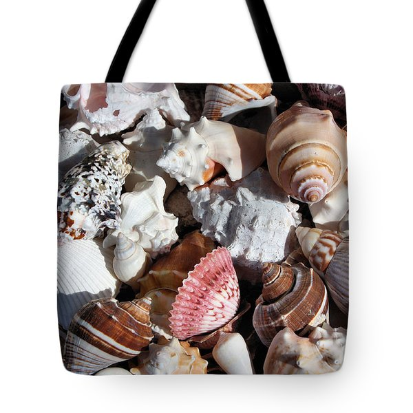 Seashells Tote Bag by Kristin Elmquist