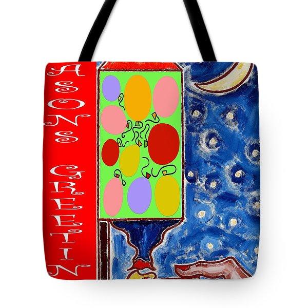 Seasons Greetings 60 Tote Bag by Patrick J Murphy