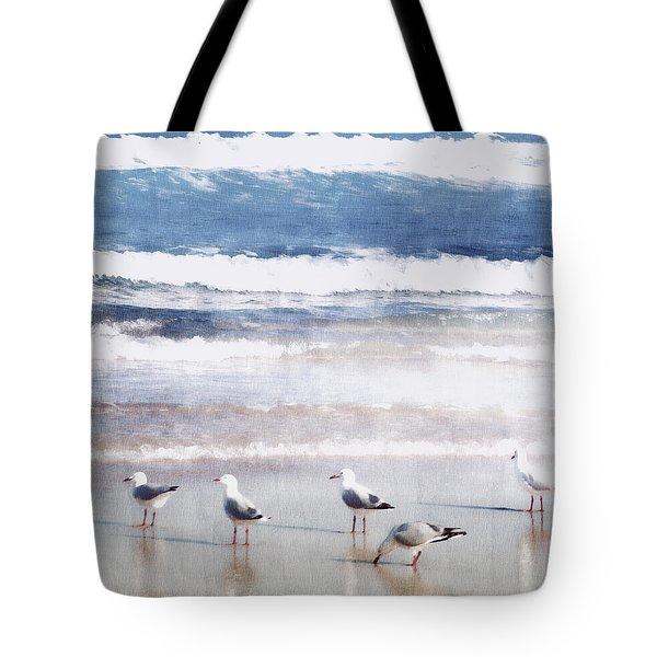 Seaspray Tote Bag by Holly Kempe