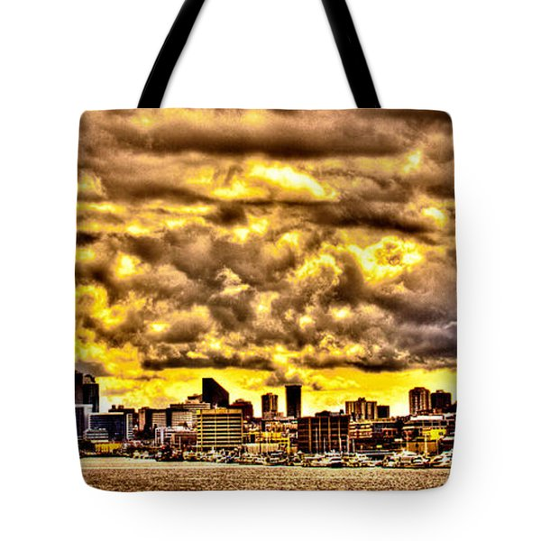 Seattle Cityscape IIi Tote Bag by David Patterson