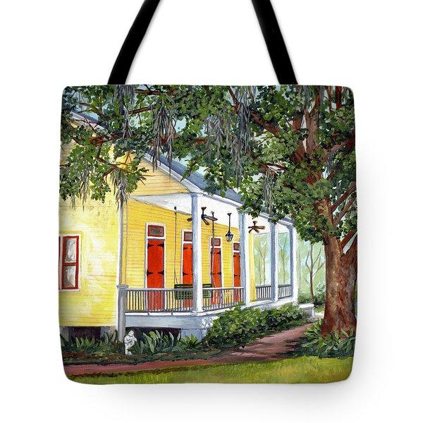 Sebastopol Plantation Tote Bag by Elaine Hodges
