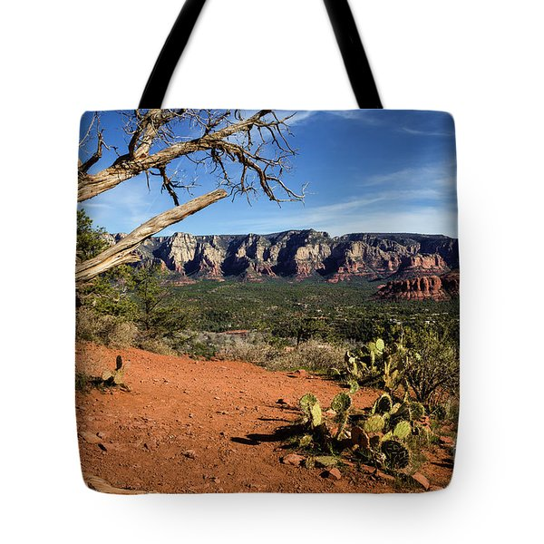 Sedona Overlook Tote Bag by Jon Burch Photography