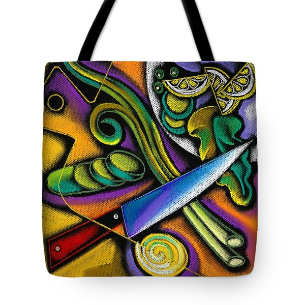 Seduction Tote Bag by Leon Zernitsky