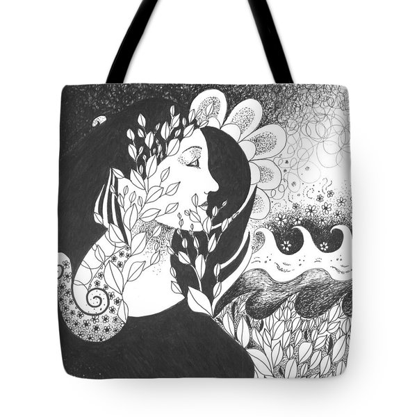 Seeing Light Tote Bag by Helena Tiainen