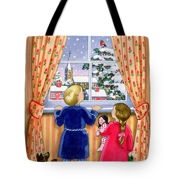 Seeing The Snow Tote Bag by Lavinia Hamer