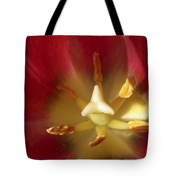 Sego Lily Stamen Tote Bag by Charles Haire