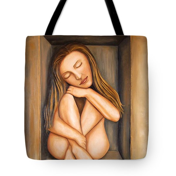 Self Storage Tote Bag by Leah Saulnier The Painting Maniac