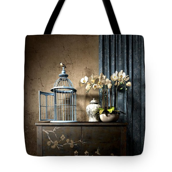 Senryu Tote Bag by Cynthia Decker