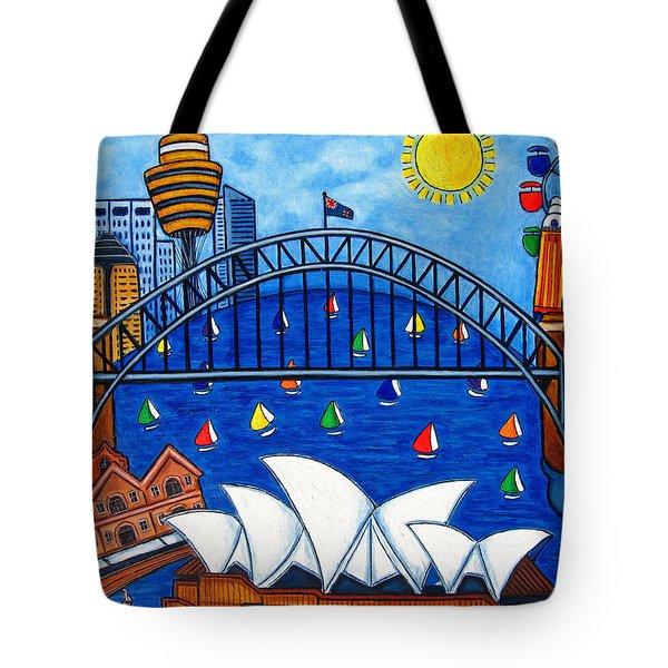Sensational Sydney Tote Bag by Lisa  Lorenz