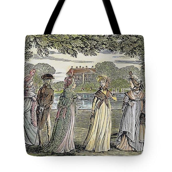 Sense & Sensibility, 1811 Tote Bag by Granger
