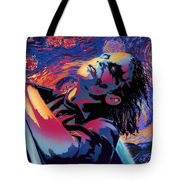 Serene Starry Night Tote Bag by Surj LA