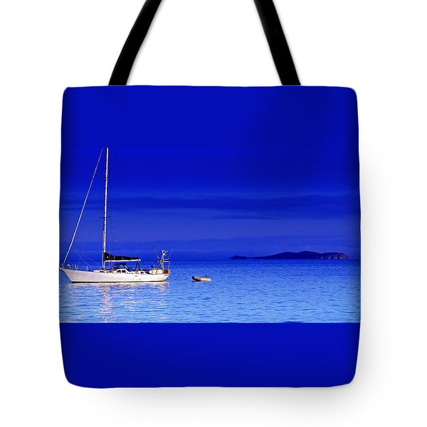 Serene Seas Tote Bag by Holly Kempe