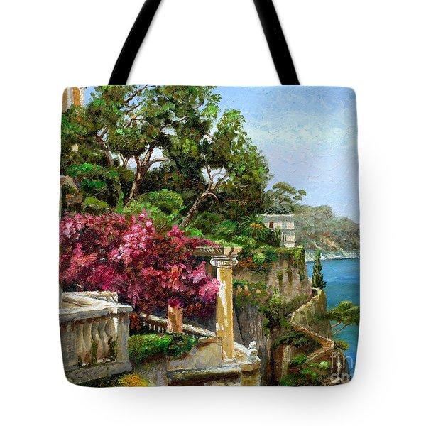 Serene Sorrento Tote Bag by Trevor Neal