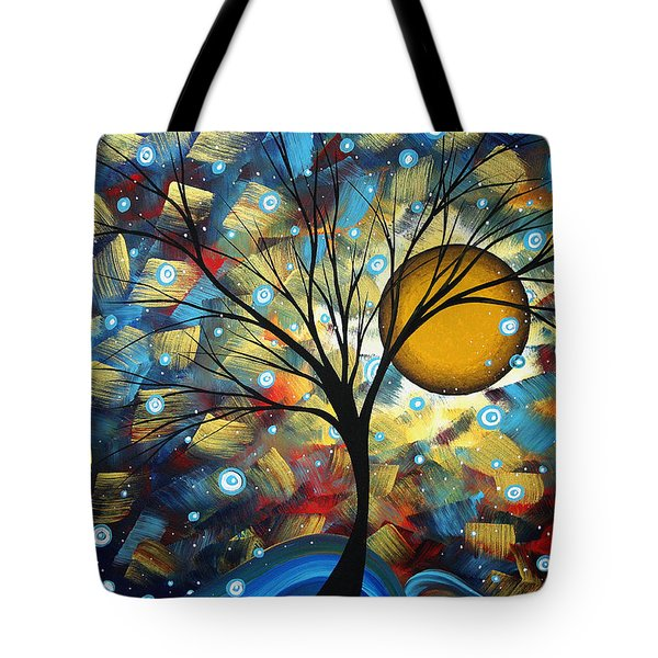 Serenity Falls By Madart Tote Bag by Megan Duncanson
