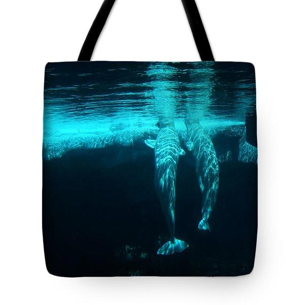 Serenity  Tote Bag by Linda Knorr Shafer