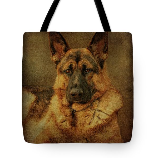 Serious Tote Bag by Sandy Keeton