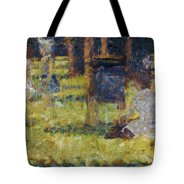 Seurat: Grande Jatte, 1884 Tote Bag by Granger