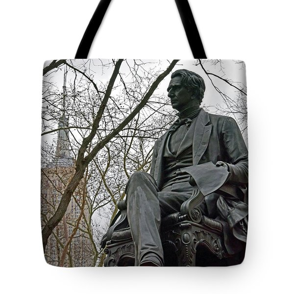 Seward And Empire State Tote Bag by Sandy Taylor