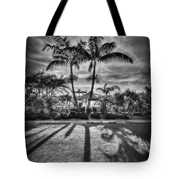 Shadow Waltz Tote Bag by Evelina Kremsdorf