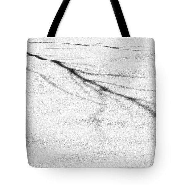 Shadows of Winter Tote Bag by Christine Till