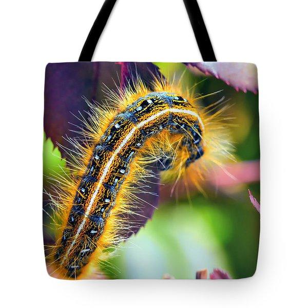 Shagerpillar Tote Bag by Bill Tiepelman