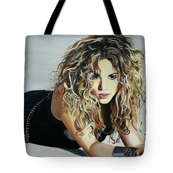 Shakira  Tote Bag by Gitanjali  Sood