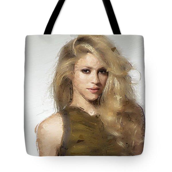 Shakira Tote Bag by Iguanna Espinosa