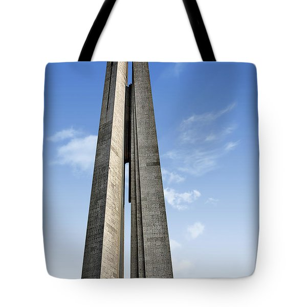 Shanghai - Monument To The People's Heroes Tote Bag by Christine Till