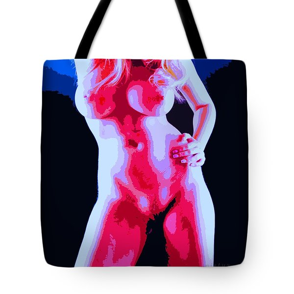 Shape Up Tote Bag by Piety Dsilva