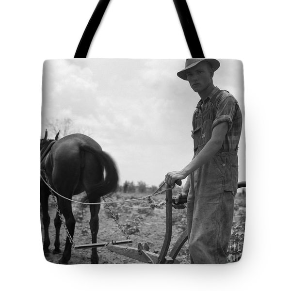 Sharecroppers Son, 1937 Tote Bag by Granger