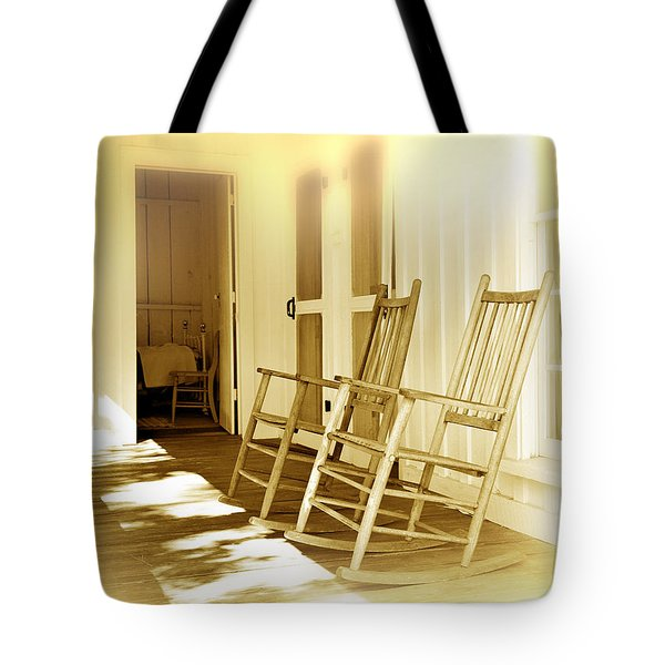 Shared Moments Tote Bag by Mal Bray