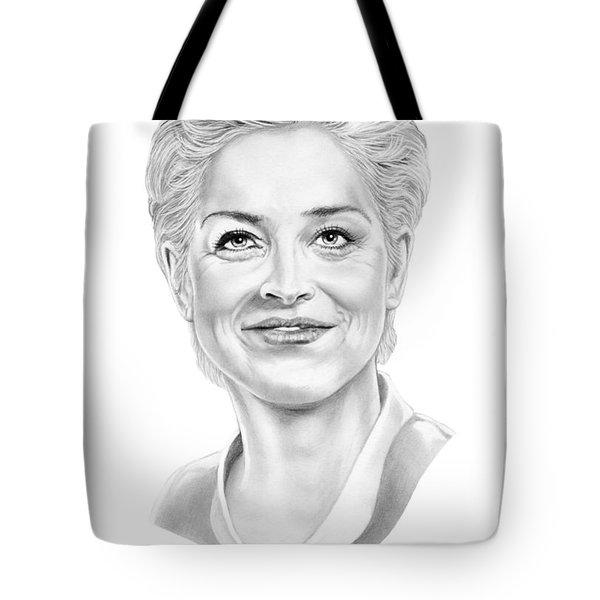 Sharon Stone Tote Bag by Murphy Elliott