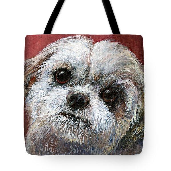 Shih Tzu Tote Bag by Sherry Shipley