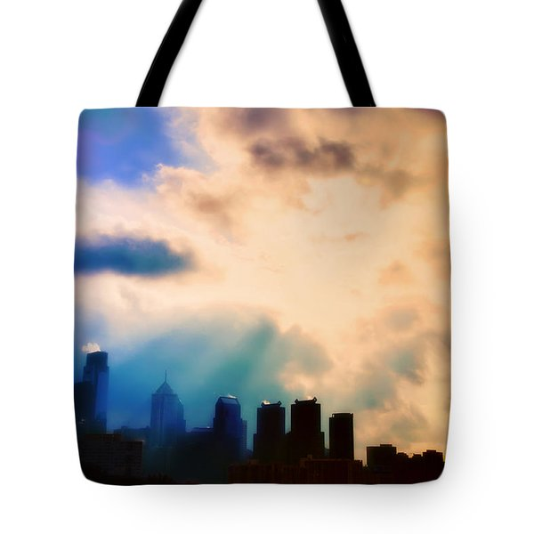 Shine A Light Tote Bag by Bill Cannon