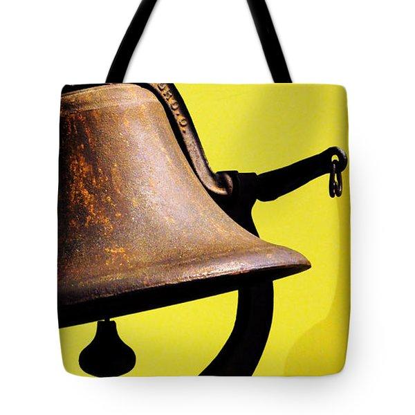 Ship's Bell Tote Bag by Rebecca Sherman