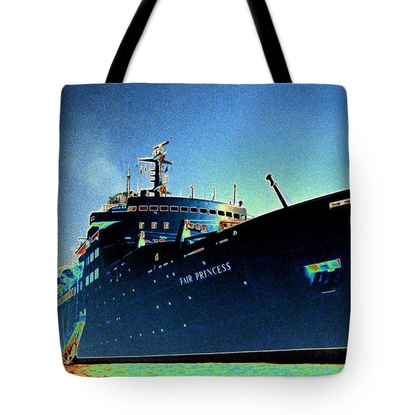Shipshape 9 Tote Bag by Will Borden
