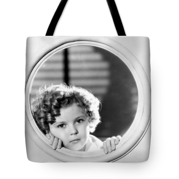 Shirley Temple (1928-2014) Tote Bag by Granger