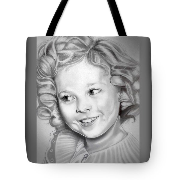 Shirley Temple Tote Bag by Fred Larucci