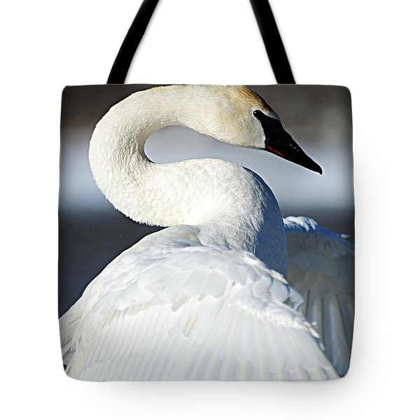 Showing Off Tote Bag by Larry Ricker