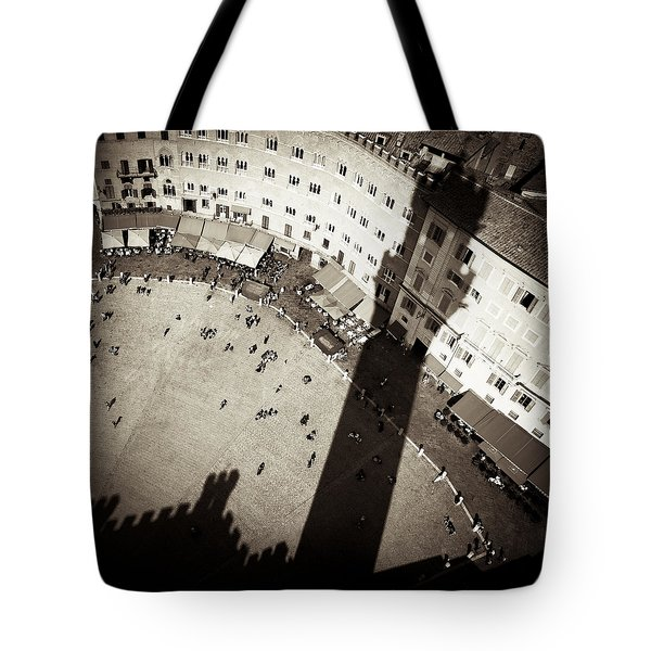 Siena from Above Tote Bag by Dave Bowman